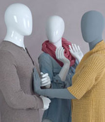 Mannequins and forms
