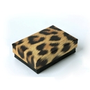 Leopard Jewelry Box Pin and Earring