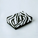 Zebra Jewelry Box Pin and Earring