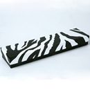 Zebra Jewelry Box Necklace
