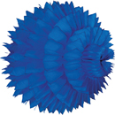 blue paper aztec ball hanging paper decorations
