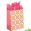 8x4-3/4x10-1/2 Chic Link Shopping Bag