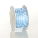 Lt. Blue Satin Dot Ribbon