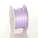 Lavender Satin Dot Ribbon