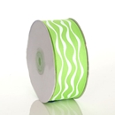 Wavy Lime Ribbon