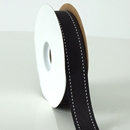Stitches ribbon black