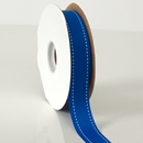 Stitches ribbon Electric blue