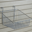 Chrome sloping basket
