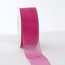 CHiffon ribbon hot pink