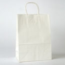 "white paper shopping bag 10"" x 5"" x 13"""