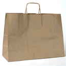kraft paper shopping bag 16x6x12.5