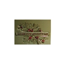 Gold Seasons Greetings gift card