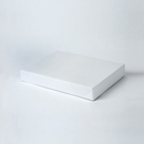 10x7x1.25 White apparel box