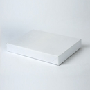 11.5x8.5x1-5/8 White apparel box