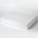 19x12x3 White apparel box
