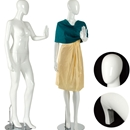 Female mannequin white gloss FM-1W