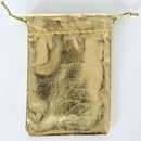 Metallic Gold Pouch 3x4