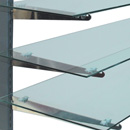 Shelving glass 10x48