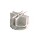 White plastic connector