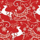sleigh ride holiday gift wrap