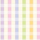 pastel plaid baby gift wrap