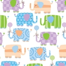 baby elephants baby gift wrap