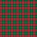 plaid holiday gift wrap