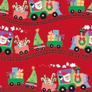 santa express holiday gift wrap