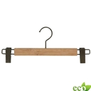 Natural flat coat hanger 17inch