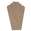 Burlap Two Necklace Easel,