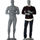 Male mannequin charcoal MM-2C