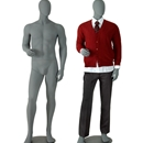 Male mannequin charcoal MM-3C