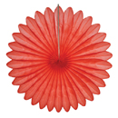 coral paper fan hanging paper decorations