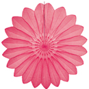 pink paper flower hanging paper decorations