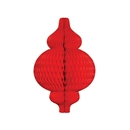 red paper ornament hanging paper decorations