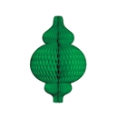 green paper ornament hanging paper decorations