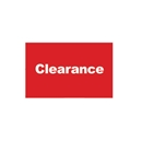 11x7 Red clearance card