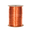 Ribbon pearlized wraphia orange
