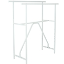Double Bar Rack White