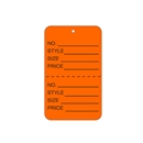 1-1/4x1-7/8 Orange Tag Unstrung