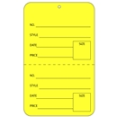 yellow tag unstrung price tags