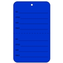 dark blue tag unstrung price tags