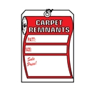 Carpet Remnant Tag