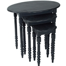 Table set black