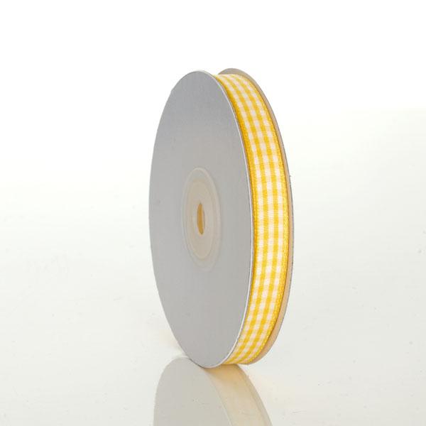 Gingham Yellow Ribbon