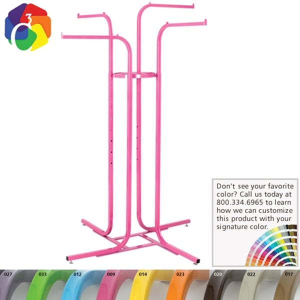Custom Color 4-Way Rack