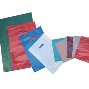 plastic merchandise bag