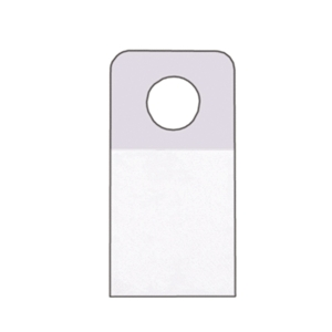Hang Tabs Bulk Pack Retail Tabs