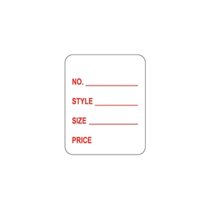 pricing labels