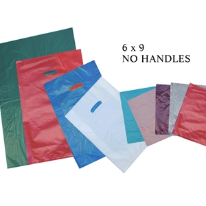 6x9 High Density Plastic Merchandise Bag 619 Firefly